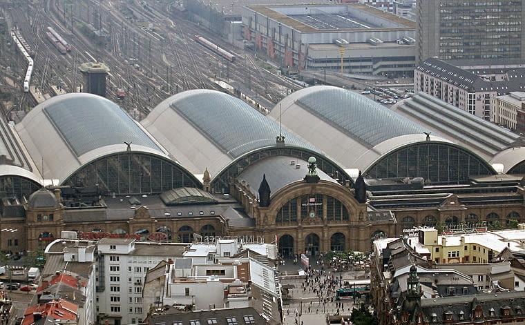 Dworzec kolejowy we Frankfurcie