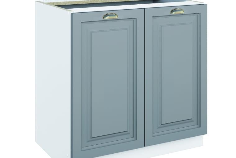 W stylu tego wnętrza: szafka stojąca, drewno sosnowe i płyta meblowa, szer. 80 cm,?Leroy Merlin, 295?zł