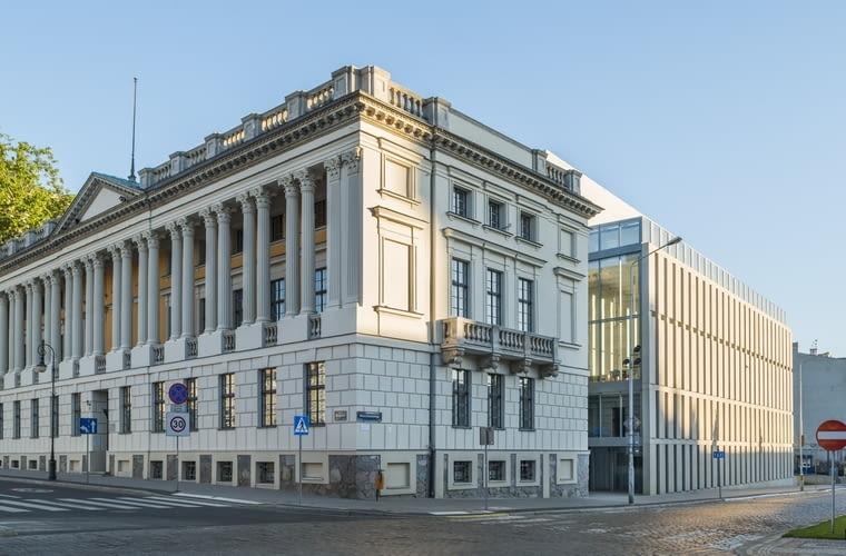 Nowe skrzydło Biblioteki Raczyńskich w Poznaniu