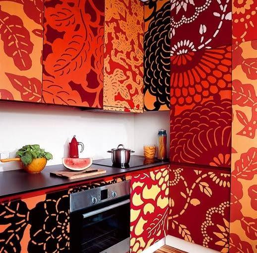 kuchnia, wnętrze, aranżacja meble