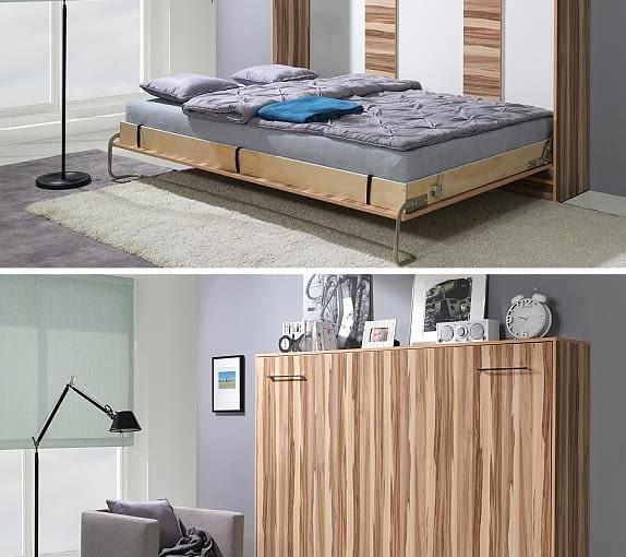 Łóżko w szafie składane poziomo, Meble Varsovia, cena: od 2183 zł