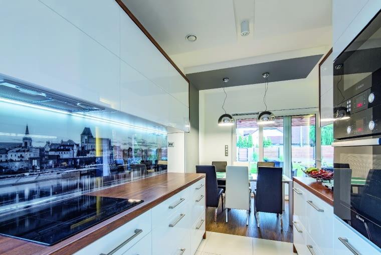dom nowoczesny, dom pasywny, kuchnia