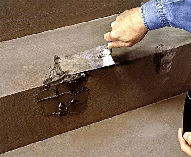 Naprawa ukruszonyc schodów betonowych