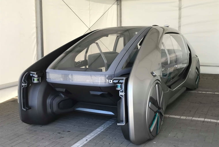 zostali było zaprojektowanie miejsca przesiadkowego z infrastrukturą dla elektrycznego i współdzielonego pojazdu autonomicznego Renault EZ-GO. Zwycięzcami zostali