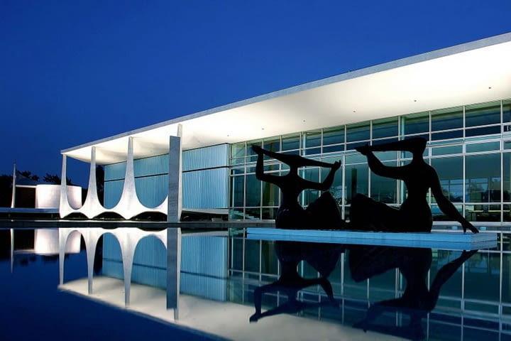 oscar niemeyer, brasilia, modernizm, architektura, architekt, Palacio da Alvorada