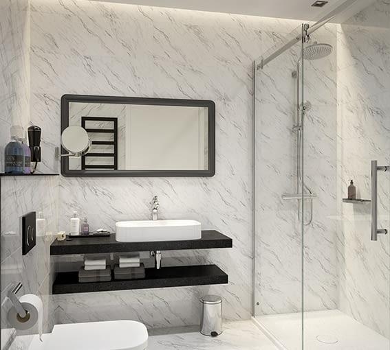 Przestronna, funkcjonalna, dopasowana do potrzeb i oczywiście piękna – taka powinna być idealna łazienka.