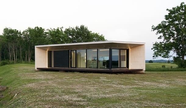 Domy z serii M montowane są na działce maksymalnie w dwa tygodnie.