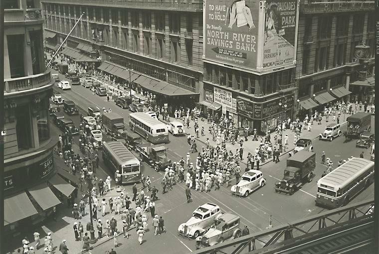 Herald Square, Manhattan, 16 lipca 1936 r.