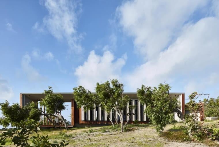 Wilson's Cottage w Autralii, projekt: James Davidson Architect
