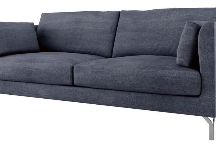 W stylu tego wnętrza: Sofa, obicie z tkaniny, dł. 200 cm, 4099 zł, Adriana Furniture