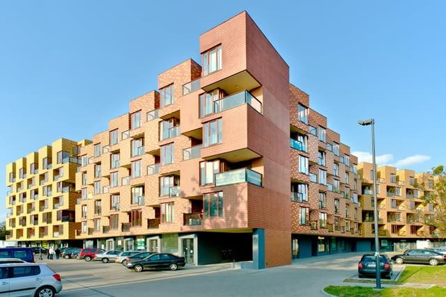 Osiedle Corte Verona we Wrocławiu, autorstwa Lewicki Łatak
