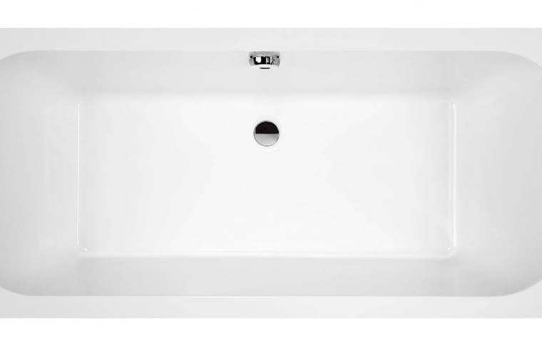 Free Line/SANPLAST. Wanna prostokątna wykonana z akrylu sanitarnego i kompletowana ze stelażem; odpływ umieszczony w dolnej części wanny; wymiary: 70 x 170 cm, głębokość 45 cm. Cena: 685 zł, www.sanplast.pl