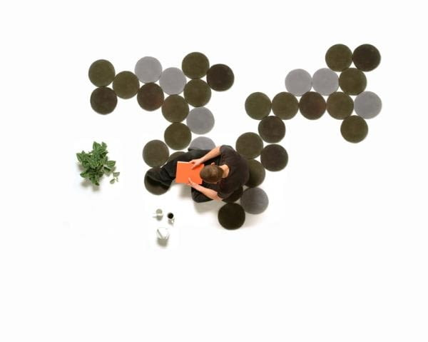 dywany, projekt: bracia Bouroullec