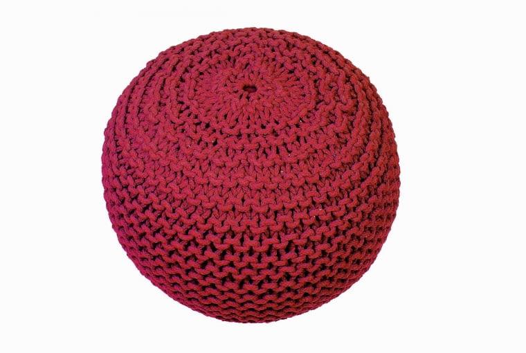 Puf Ball, śr. 50 cm, wys. 35 cm, bawełna, House & More, 390 zł