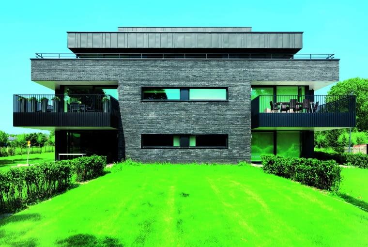 Marono szaro-grafitowa/ WIENERBERGER cegła strukturyzowana wymiary: 288 x 88 x 48 mm kolor: szaro-grafitowy Cena: ok. 274 zł/m2
