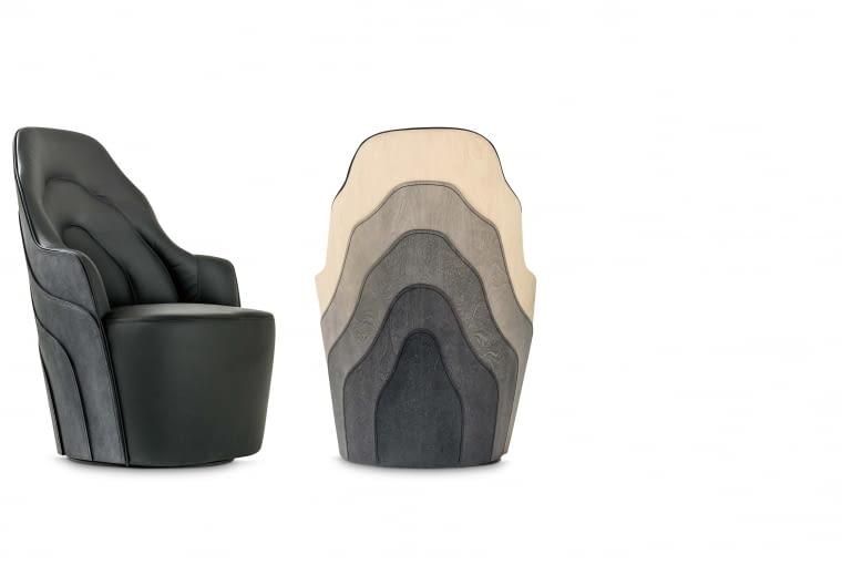 Fotel Couture. Nowość! Dla hiszpańskiej marki zaprojektował go duet szwedzko-francuski: Fredrik Färg i Emma Marga Blanche, BD Barcelona