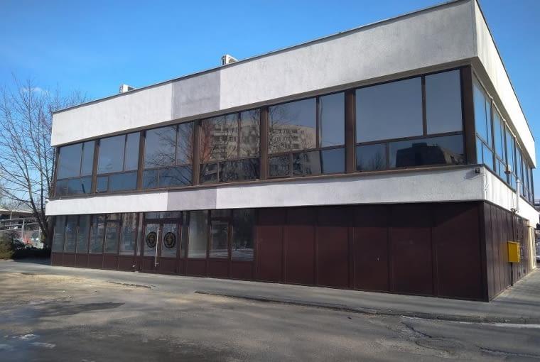 Dawny Pałac Ślubów w Sosnowcu bez arkadowego stelaża.