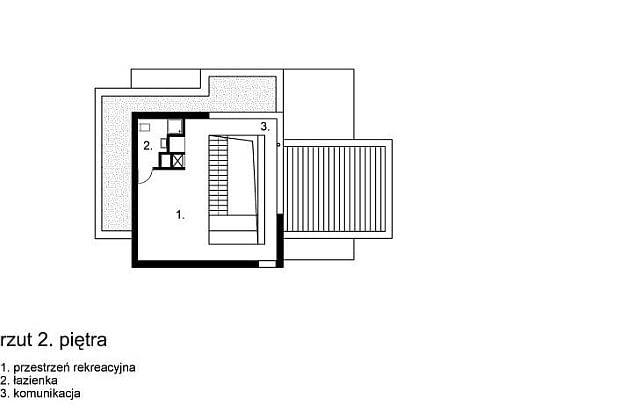 rs+, dom jednorodzinny XV w Krakowie - rzuty