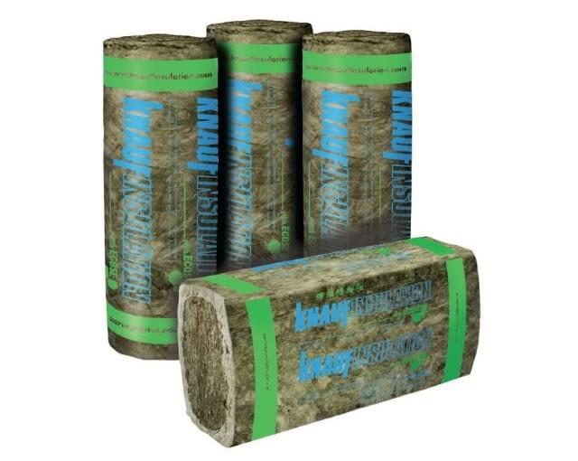 Maty ECOSE, Knauf Insulation, bezzapachowe, pozbawione barwników, fenoli i formaldehydów. Cena: 18 zł/mkw