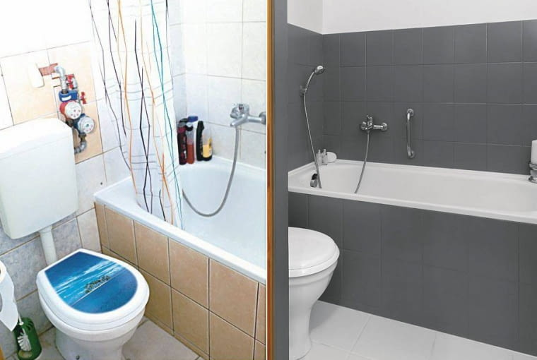 aranżacja łazienki, malowanie łazienki