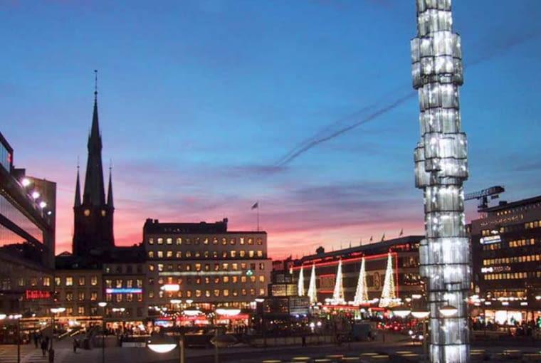 Sergels Torg - centrum Sztokholmu, źródło: materiały promocyjne Sztokholmu