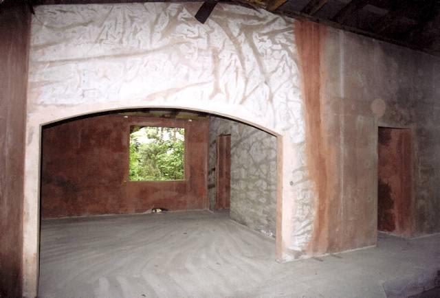 Fragment wnętrza przed przebudową