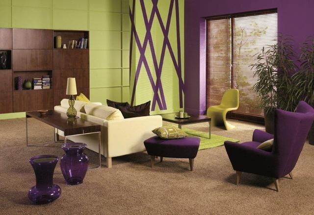 Farby do wnętrz. Kolory ścian - inspiracje