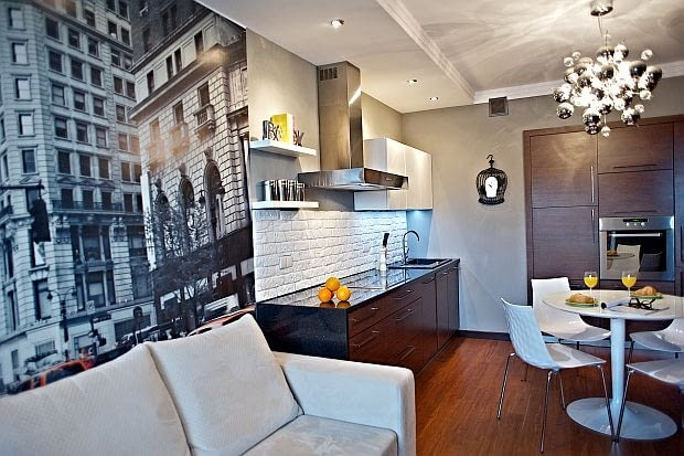 aranżacja mieszkania, nowoczesne mieszkanie