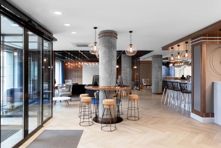 Hotel Number One w Gdańsku, projekt pracowni Sikora Wnętrza
