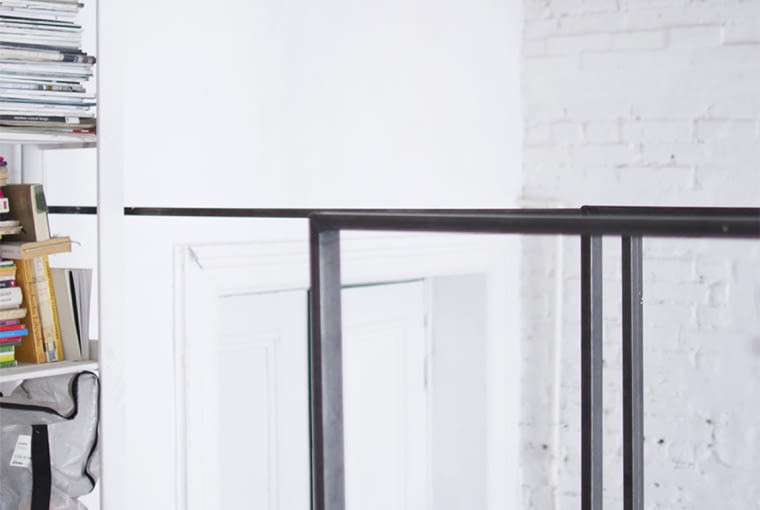 kawalerka w Łodzi, styl loftowy