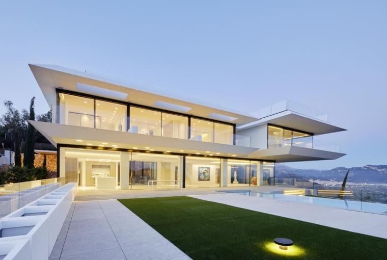 Willa 'Where Eagles Dare' w Port d'Andratx w Hiszpanii, projekt: Gras Arquitectos