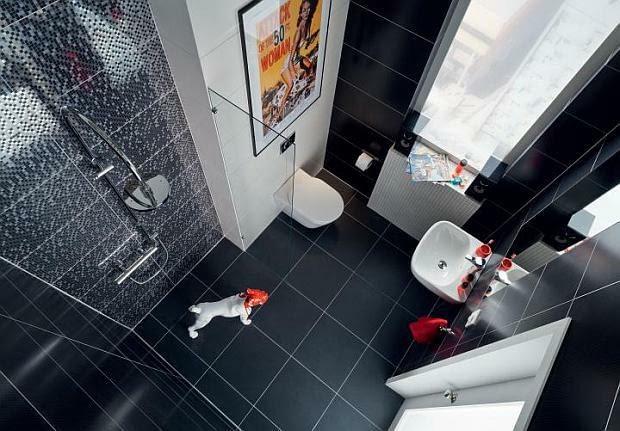 mała łazienka, projektowanie łazienki, prysznic