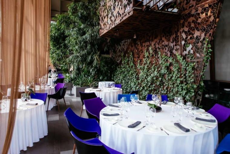 Restauracja Belvedere w Nowej Pomarańczarni w Łazienkach Królewskich