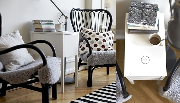 Stolik NORDLI, IKEA, meble