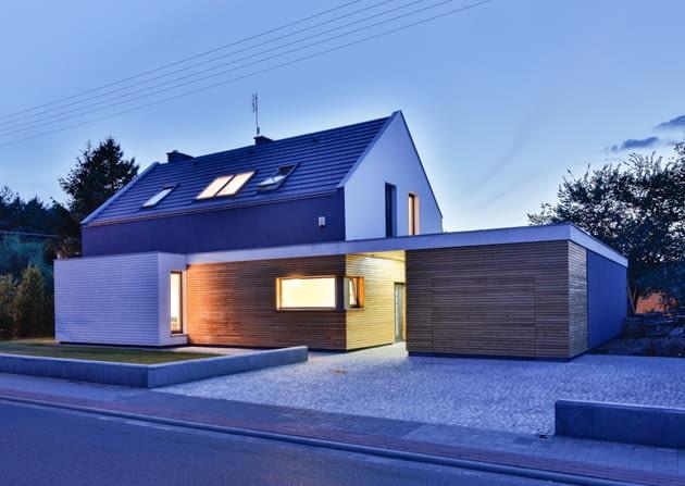 dom jednorodzinny, dom zdjęcia, domy zdjęcia, domy realizacje, elewacje domów