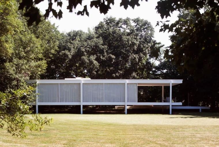 Farnsworth House, proj. Ludwig Mies van der Rohe