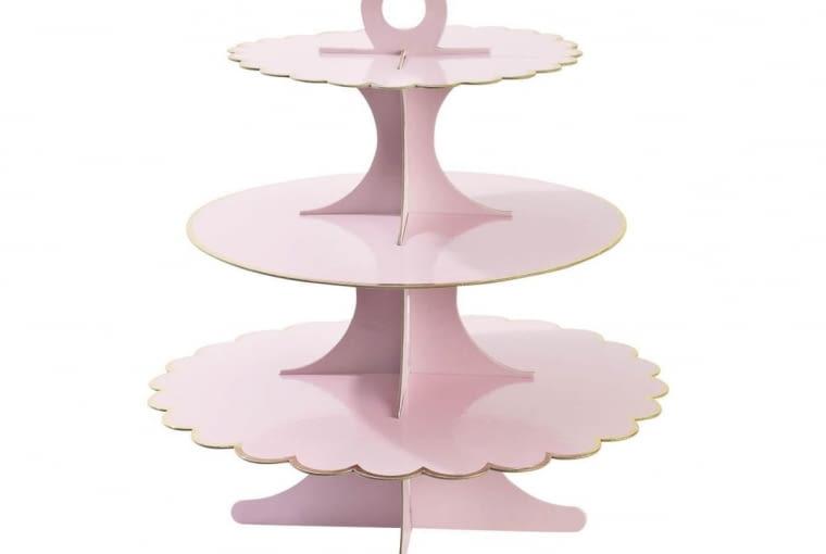 Papierowa etażerka Paper Rose