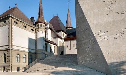 Kubus/Titan - dobudowana do pochodzącego z 1894 roku część wystawiennicza Muzeum Historycznego w Bernie, stolicy Szwajcarii.