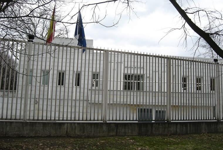 ambasada, hiszpania, warszawa