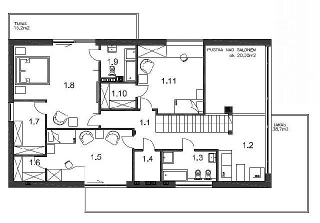 projekt domu, plany domu