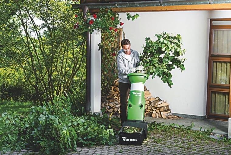 ROZDRABNIACZ ELEKTRYCZNY - idealny do szybkiego rozdrabniania gałęzi o średnicy do 3,5 cm, ok. 1300 zł, Stihl.