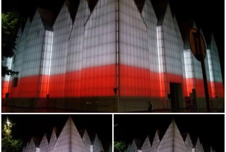 Iluminacja Filharmonii w Szczecinie