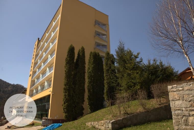 Hotel Solar - stan istniejący
