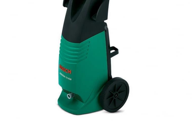 AQUATAK 115 PLUS, ciśnienie 115 barów, wydajność 380 l/h, waga 7,2 kg, ok. 600 zł, Bosch