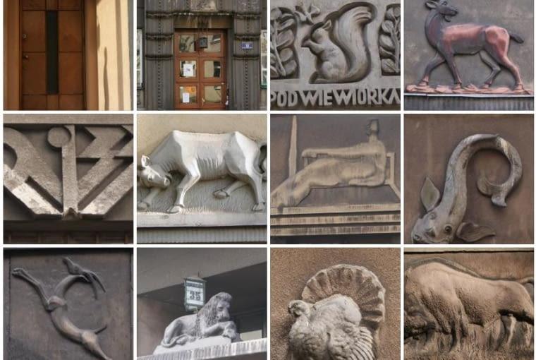 Godła krakowskich kamienic