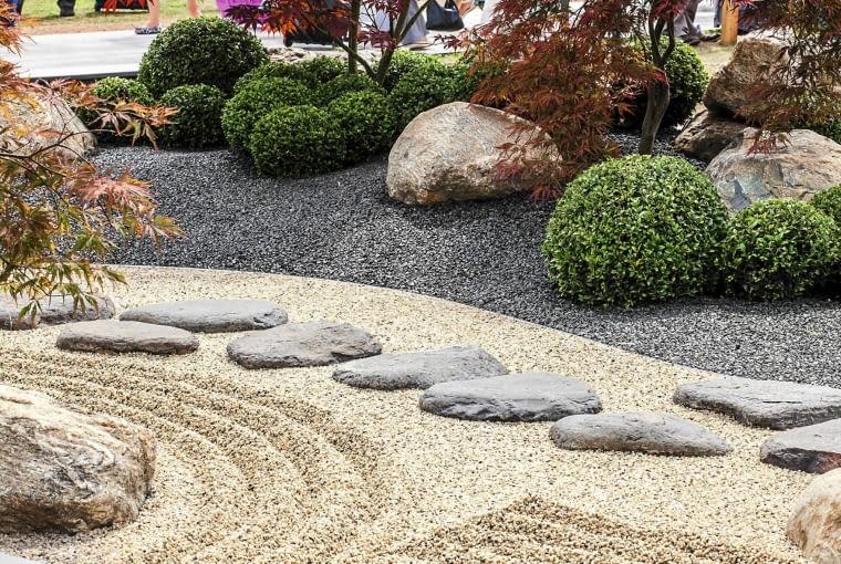 Show Garden; Outerspace Designs & Rumwood Nurseries hr-dz SLOWA KLUCZOWE: hr-dz japonski kamienie bukszpan