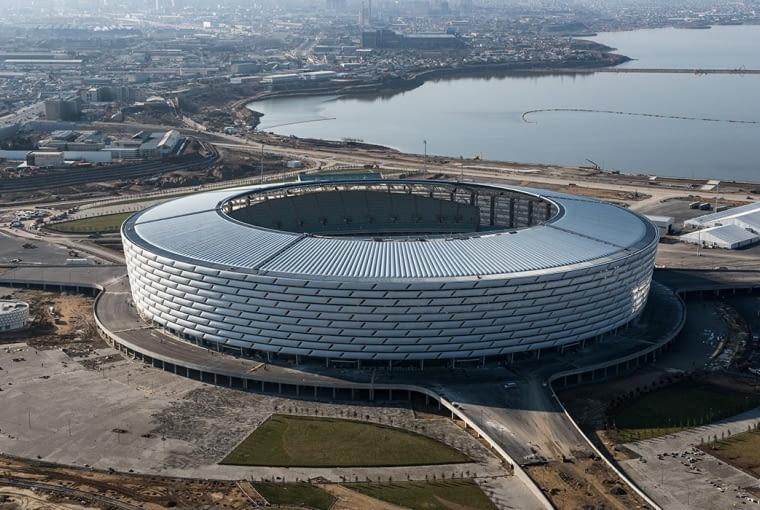 Baku Olympic Stadium, Baku - Azerbejdżan (VII nagroda w głosowaniu internautów, VIII nagroda w głosowaniu jury) - Azerbejdżański stadion został zaplanowany jako cześć rozległego kompleksu zajmującego około 50 hektarów. Główny obiekt kompleksu - stadion olimpijski jest w stanie zgromadzić na trybunach blisko 70 000 widzów.
