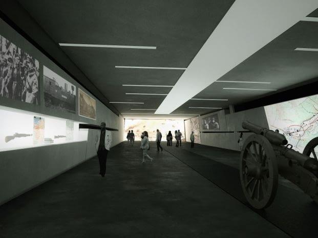 Wrota Bitwy Warszawskiej 1920 proj: Nizio Design