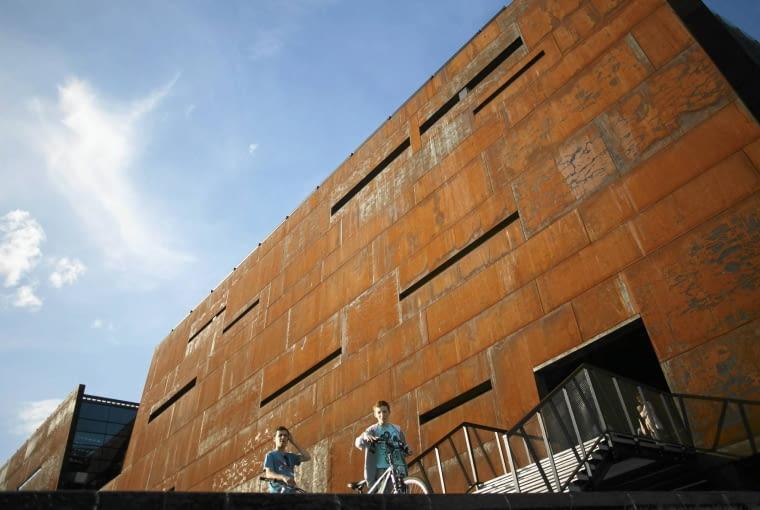 30.08.2014 Gdansk . Europejskie Centrum Solidarnosci , dzien otwarcie . fot. Lukasz Glowala / Agencja Gazeta SLOWA KLUCZOWE: ecs europejskie centrum solidarnosci