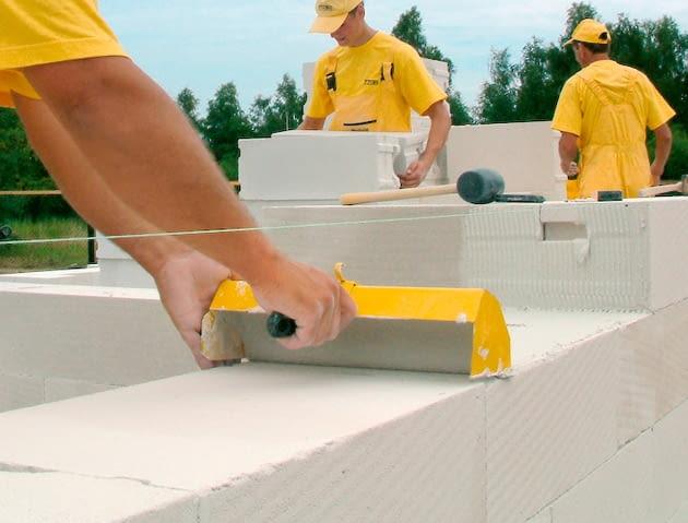 materiały budowlane, ściany jednowarstwowe, beton komórkowy